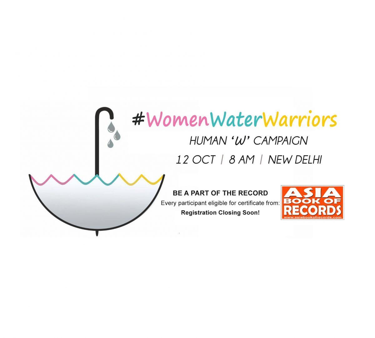 Woman Water Warrior!?